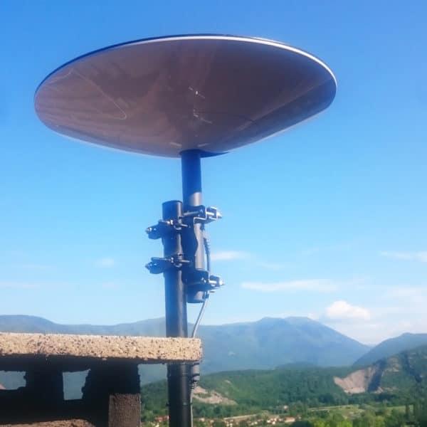 pose installation parabole starlink