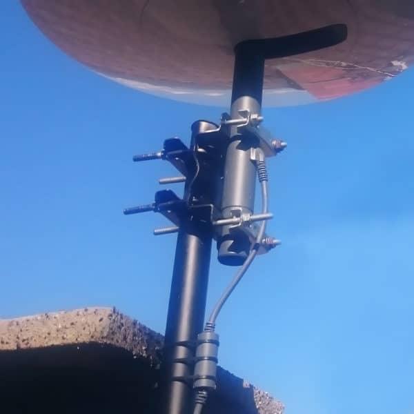 comment installer la parabole starlink en hauteur