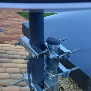 Adaptateur pour fixation starlink sur cheminee